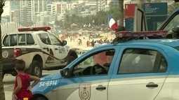 Esquema especial da Polícia Militar garante a segurança dos blocos no Rio de Janeiro