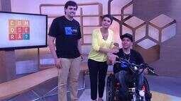 Conheça o triciclo motorizado criado para ajudar a vida de cadeirantes