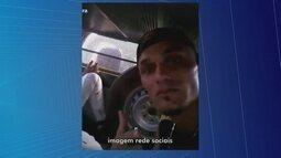 Homem grava vídeo de dentro de camburão da polícia e divulga em redes sociais