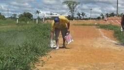 Moradores de Caroebe se unem pelo bicicross