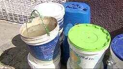 Famílias enfrentam problemas com a falta de água em Panelas