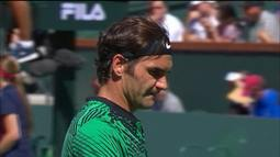 Masters 1000 - Indian Wells - Sock x Federer - Semifinal