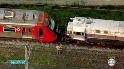 Trem da CPTM quebra na estação Ceasa nesta sexta-feira (24)