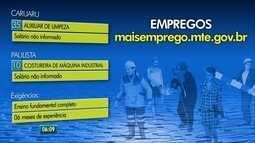 Agências do Trabalho têm oportunidades de emprego em Caruaru e Paulista