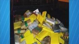 PRF apreende 370kg de pasta base de cocaína durante fiscalização em Ariquemes