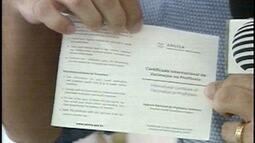 Saiba como emitir o Certificado Internacional de Vacinação
