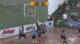 Confira a 2ª semifinal do masculino da 3ª Copa TV Tribuna de Basquete Escolar