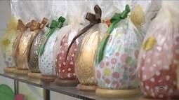 A 3 semanas da Páscoa, fábricas artesanais apostam na criatividade em SC