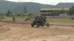 Campeonato Brasileiro de Rally é realizado em Ilha Comprida, SP