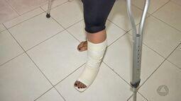 Paciente que sofreu acidente reclama de demora em cirurgia ortopédica
