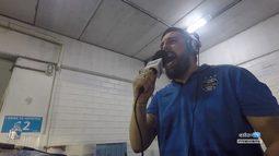 Azul, Preto e Branco - Radio Grêmio cobre Novo Hamburgo X Grêmio