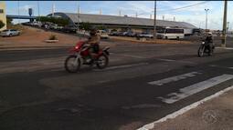 Faixas de pedestres apagadas preocupam petrolinenses