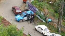Suspeito de matar mulher e os 3 filhos não aceitava separação, diz polícia