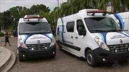 Instituto de Administração Penitenciária recebe cinco carros para transporte de presos