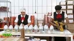 Empresas aumentam a produção de ovos de chocolate com a chegada da Páscoa