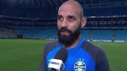 """Bruno: """" é desagradável mas faz parte"""", """"fizemos um bom jogo e sofremos pressão no final"""""""