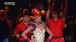 Reveja outros shows de Fernanda Lima e seu balé