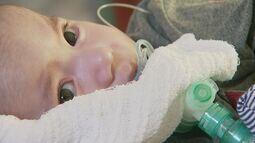 Bebê com doença degenerativa recebe 1ª dose de medicamento milionário