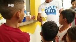 Parte 3: Projeto distribui leite de soja para famílias de Maués, no AM