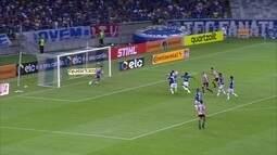 Os gols de Cruzeiro 1 x 2 São Paulo pela quarta fase da Copa do Brasil