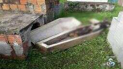 Túmulos são violados e crânios furtados em cemitério no interior do Acre