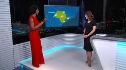 Confira a previsão do tempo para o domingo (23) em São Paulo