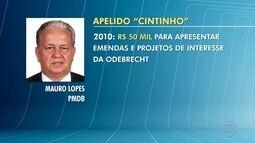 Delação da Odebrecht: Deputado Mauro Lopes é citado em lista de delator