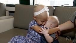 Irmão compatível salva a vida de menina com grave anemia falciforme