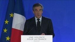 Candidato derrotado à presidência da França François Fillon indica apoio a Macron