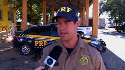 PRF divulgou balanço da Operação Tiradentes