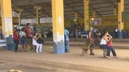 Semana inicia com paralisação do transporte coletivo em Porto Velho