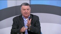 Arnaldo fala sobre o lance do gol do Corinthians sobre o São Paulo