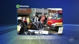 Idosa de 81 anos morre atropelada ao sair de ônibus em São Roque