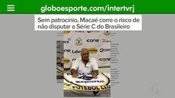 Próximo do início da Série C do Brasileiro, Macaé segue sem time montado