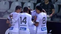 Os gols de Santos 2 x 0 Paysandu pelas oitavas de final da Copa do Brasil