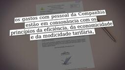 Tribunal de Contas quer saber se altos salários pagos pela Caesb têrm impacto na tarifa