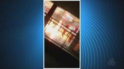 Madrugada violenta em Boa Vista; bandidos atacam banco e órgãos públicos