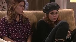 Cláudia reclama de Nazaré em conversa com Isabel