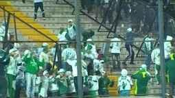 Torcedor do Palmeiras relata detalhes da confusão em estádio do Peñarol