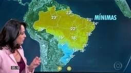 Confira a previsão do tempo para a sexta-feira (28)