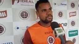 Damião se apresenta na Desportiva e fala de Rafael Soriano: ''Conheço desde a base''