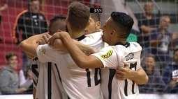 Os gols de Corinthians 6 x 2 Marechal Rondon pela Liga Nacional de Futsal