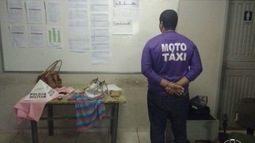 Mototaxista suspeito de oito assaltos é preso em Montes Claros