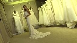 'Banho de Loja' deste sábado mostra vários estilos de vestidos de noiva