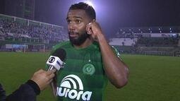 Autor do gol da vitória, Luiz Antonio festeja resultado e fala de sequência de viagens