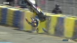 Australiano Jack Miller sofre acidente incrível no treino da Moto GP na França