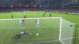 Os gols de Atlético-PR 0 x 2 Grêmio pela 2ª rodada do Campeonato Brasileiro