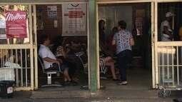 Pacientes reclamam da demora no atendimento em Cais de Goiânia