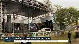Virada Cultura registra queda de público e divide opiniões com nova estrutura