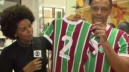 Carlos Alberto Torres é homenageado pelo Fluminense